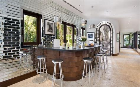 Miami Home Bar Bar In This Luxury Modern Miami Home Atman