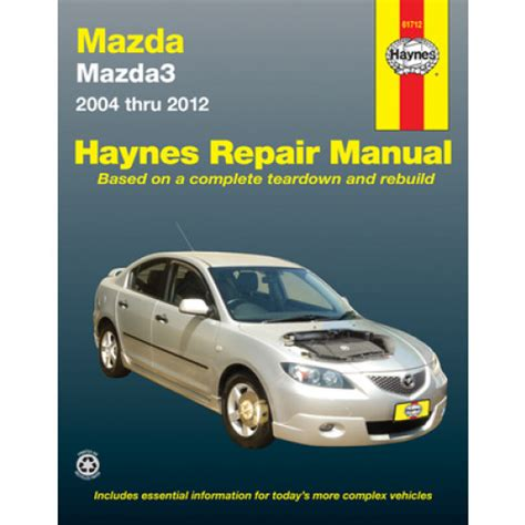 car repair manual download 2011 mazda mazdaspeed 3 security system haynes manual mazda3 2004 2011 mazda 3 2004 2011 61012