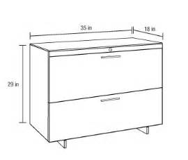 2 Drawer Lateral File Cabinet Dimensions Sequel Lateral File Cabinet