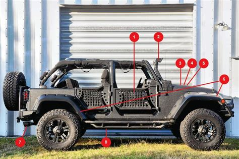 jeep accessory store all of the parts on the vehicle were purchased from the