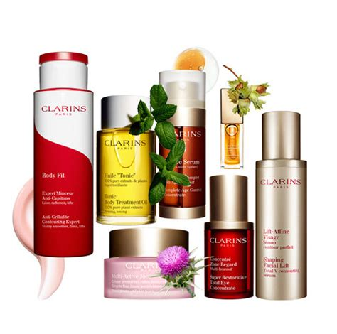 best clarins products skincare products chanel clarins l oreal