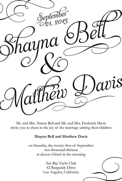 wedding invitation templates online free wblqual com