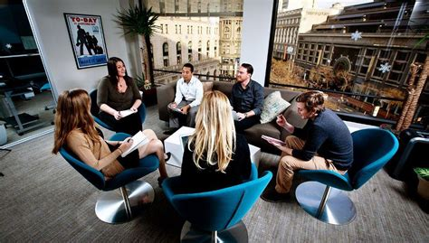 informal meeting  livecareer office photo