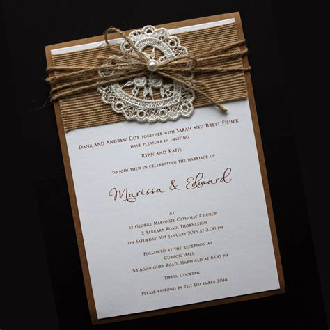 Wedding Invitation Styles by Wedding Invitations Northern Beaches All Styles And Colours