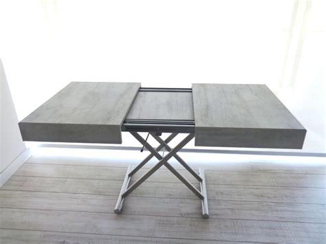 tavolo ozzio ozzio tavolo tavolino trasformabile new cover easyline