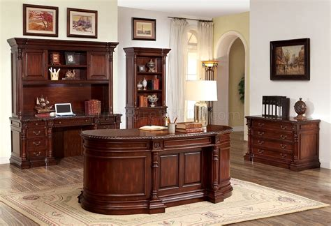 oval office desk roosevelt cm dk6252od oval office desk in cherry w options