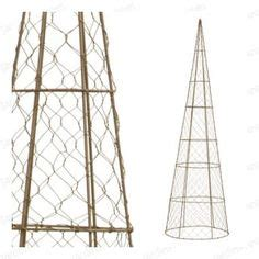 wire frame christmas decoration ideas on pinterest