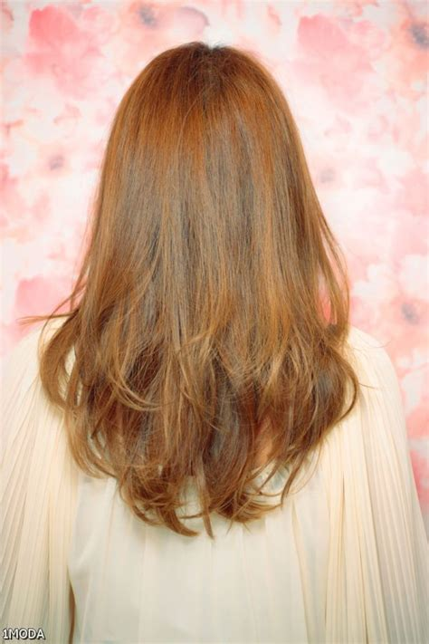 back of hairstyle cut with layers and ushape cut in back 25 best ideas about v layered haircuts on pinterest v