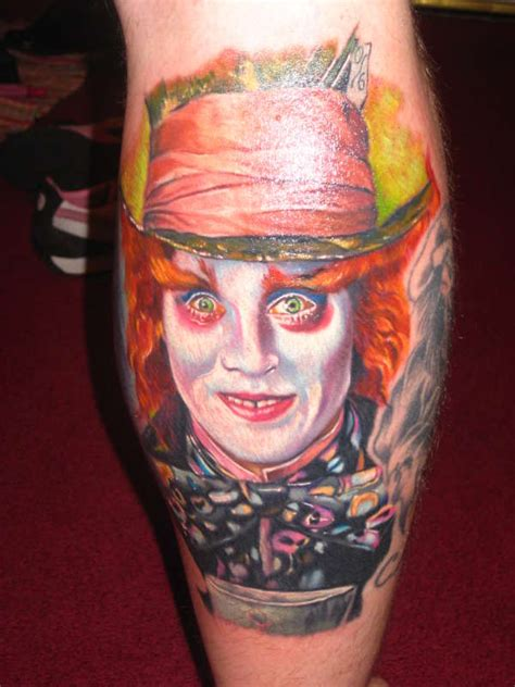 mad hatter tattoo mad hatter
