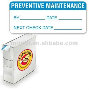 printable calibration stickers custom calibration label sticker and inspection label