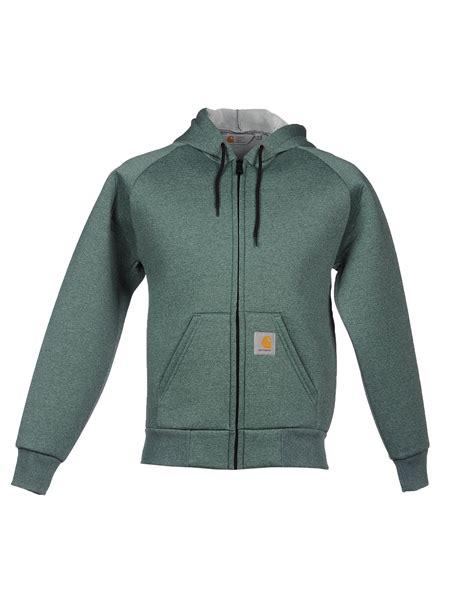 Hoodie Carhartt 07 Jersiclothing carhartt sweatshirt in green for lyst