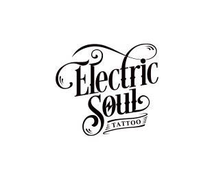 electric tattoo logo logopond logo brand identity inspiration electric