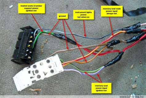 e46 wiring seat diagram get free image about wiring diagram