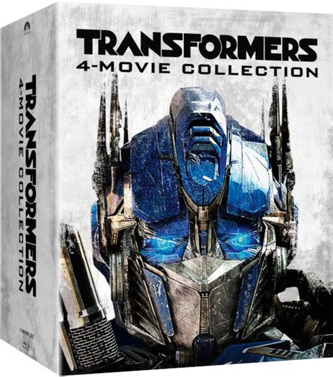 Transformers The Uk Exclusive Steelbook transformers 1 4 zavvi exclusive limited edition steelbook box set zavvi