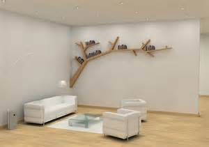 Simple Bookshelves Designs Cool Stylish Tree Shape Bookshelves Designs Collection