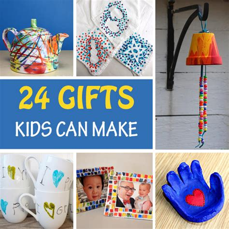 Handmade Gifts From Toddlers - 24 gifts for to make non gifts