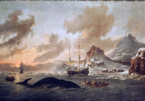 new painting free file walvisvangst bij de kust spitsbergen