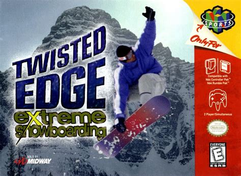 Twisted With An Edge twisted edge snowboarding for nintendo 64 1998