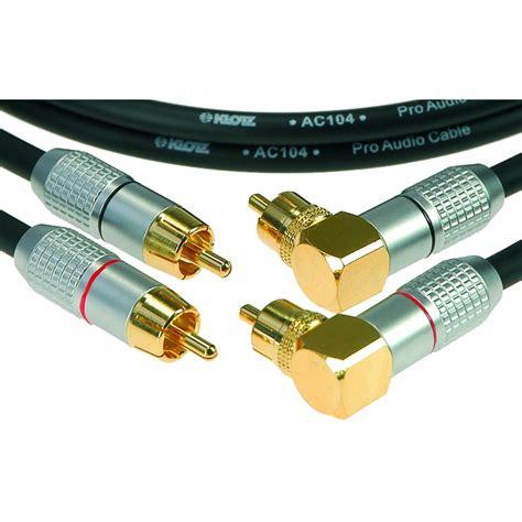 Vivan Kabel Set Pro 1 Kabel 60cm 5 Konektor Harga Terjamin Murah klotz alpa050 rca recht 2p rca haaks 2p kabel 5m set