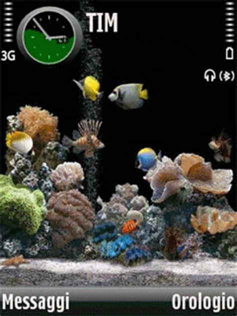themes mobile88 nokia e52 aquarium 9 theme