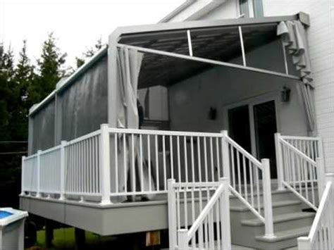 mosquito netting for retractable awnings add curtains or mosquito nets to your retractable awning
