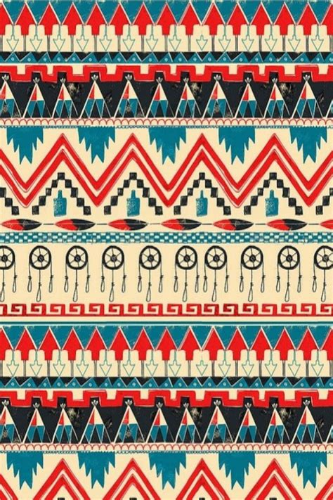 Pattern Colourful Tribal 0864 Casing For Iphone 6 Plus6s Plus Hardcas iphone wallpaper aztec tribal tjn randoms
