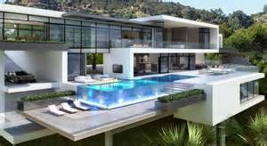 Architectural Plans For Sale For Luxury Contemporary Mansions On Sunset Plaza Drive La