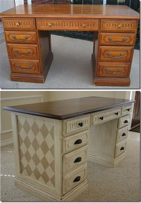 Diy Desk Makeover Instructions Diy Cozy Home Diy Painted Desk