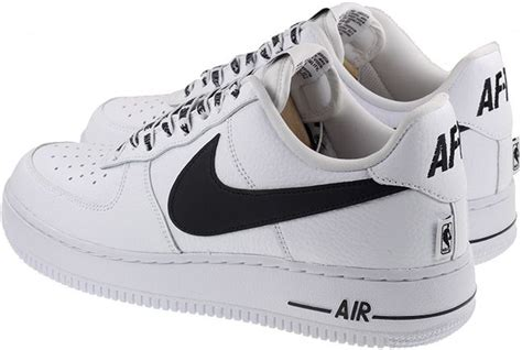 white nike shoes with black swoosh nike shoes mens air 1 07 lv8 big swoosh white black