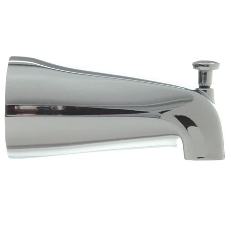 bathtub faucet with shower connection 1 2 in slip connection adjustable tub spout with diverter