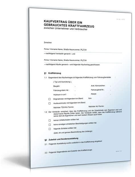 Kaufvertrag Auto Pdf Ausf Llbar by Kaufvertrag Kfz Kfz Kaufvertrag Kfz Kaufvertrag Pics