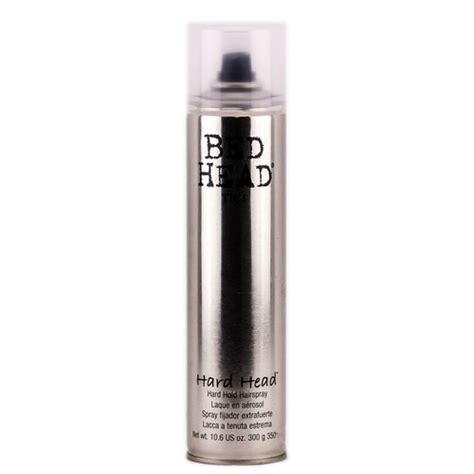 bed head hard head hairspray tigi bed head hard head hairspray sleekshop com