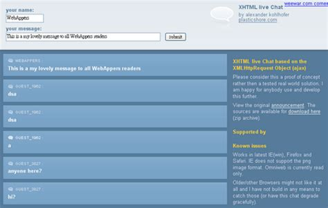 online live chat room create online live chat room using xhtml chat