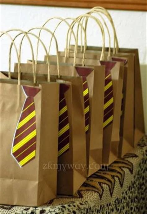 harry potter party  goodie bags  home favors