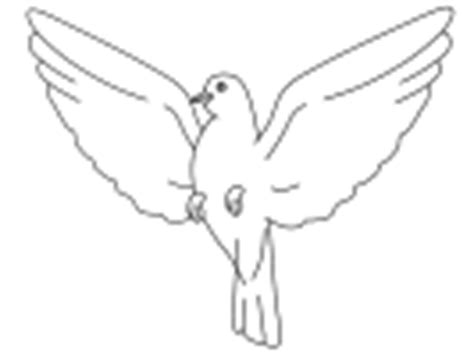 dltk birds coloring pages dove and pigeon crafts