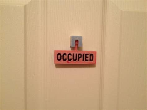 bathroom occupied signs bathroom occupied vacant sign by jamesarm97