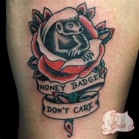 honey badger tattoo discover and save creative ideas