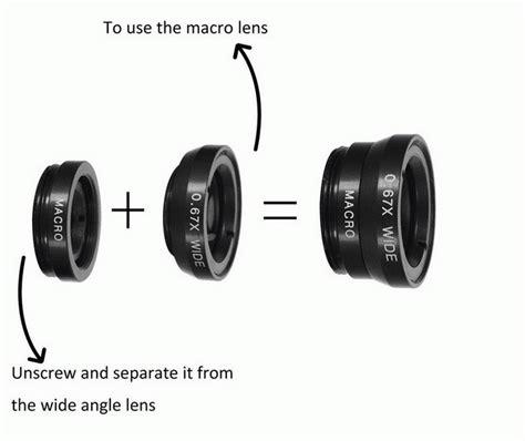 Universal Macro And Wide Angle Detachable Lens universal fisheye lens 3 in 1 mobile phone clip lenses fish eye wide angle macro lens for