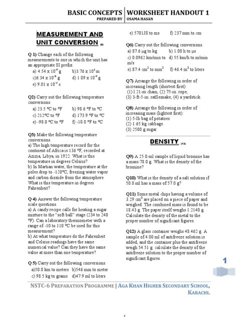 Teaching Transparency Worksheet Answers Chapter 6 by Math Skills Transparency Worksheets Chemistry Matter And