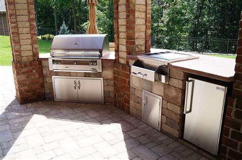 backyard built in grill built in bbq designs cheap outdoor
