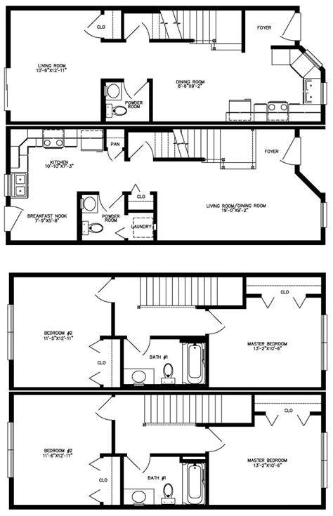 landon modular home floor plan