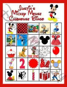 8 disney mickey mouse clubhouse birthday bingo disneymomma24