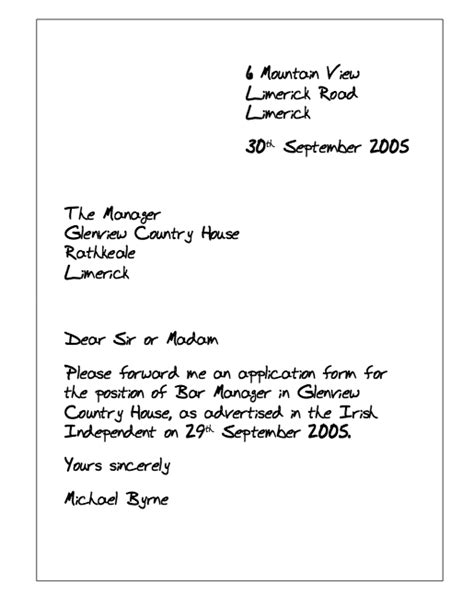 Request Letter For Questionnaire exle of letter asking application form http