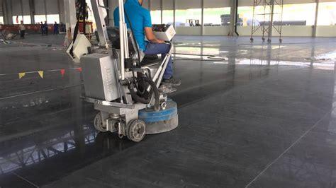 concrete polishing machine   YouTube