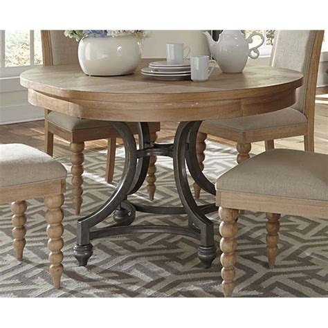 liberty furniture harbor view dining table in sand
