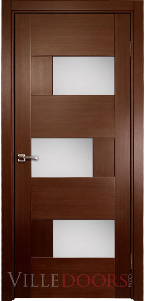 Interior Doors Contemporary Dominika Contemporary Interior Door With Glass