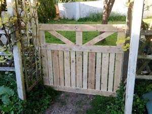 garten schiebetor pallet garden fence