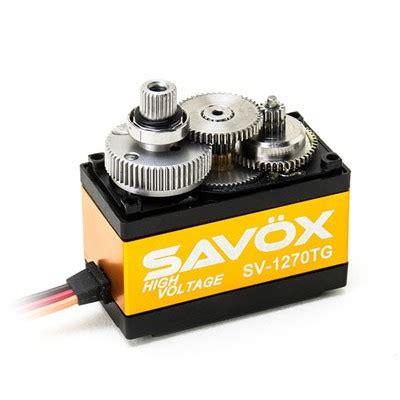 Servo Savox Sv 1270tg sav 246 x digital servo sv 1270tg h a r m racing