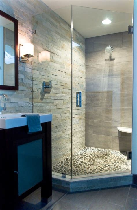 river rock bathroom ideas pin by julie stammers on bathroom ideas