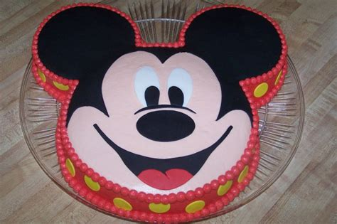 mickey mouse template for cake images of mickey mouse cakes